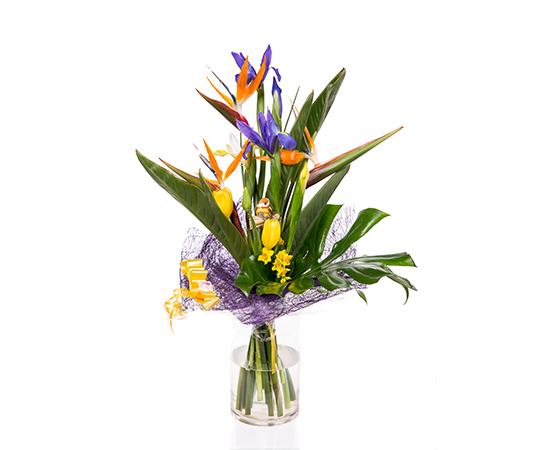 זר פרחים אהבה מגן העדן